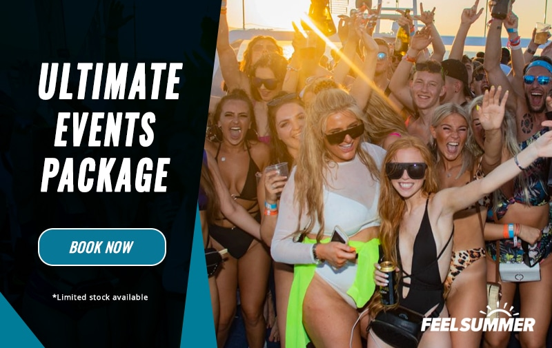 ultimate zante events package