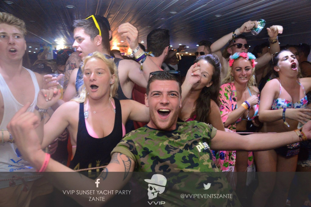 vvip boat party zante events zante boat party