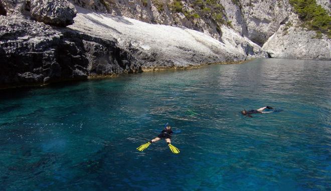 Snorkleing – Laganas